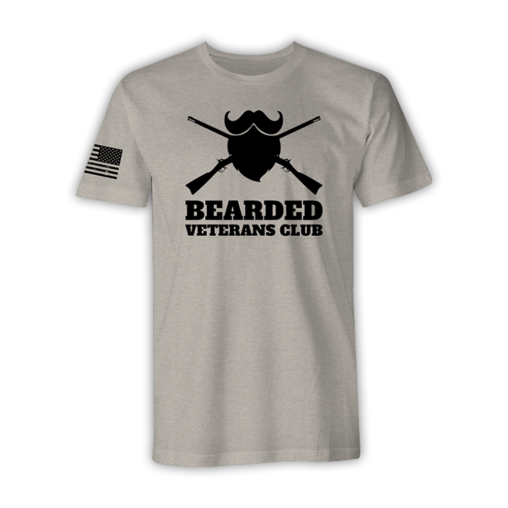 Bearded Veterans Club - Combat Shirt – Desert Tan
