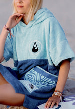 Afbeelding in Gallery-weergave laden, WAVE HAWAII Poncho Maxi