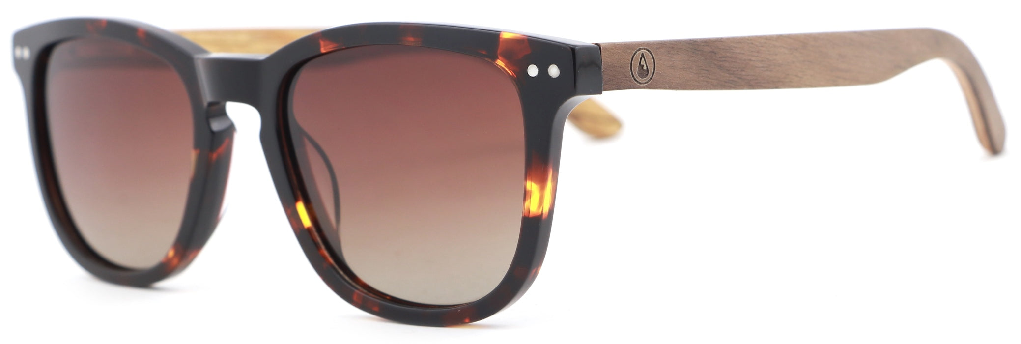 WAVE HAWAII Sonnenbrille Acetat gradient brown