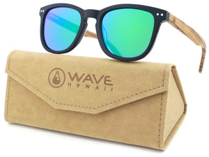 WAVE HAWAII Sonnenbrille Acetat green