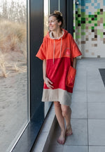 Lade das Bild in den Galerie-Viewer, WAVE HAWAII Poncho Seta