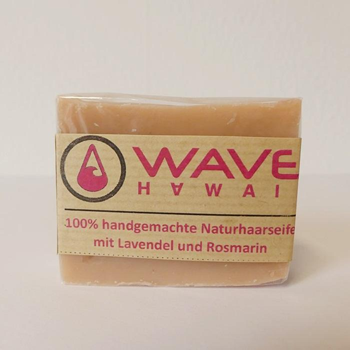 WAVE HAWAII Naturseifenshampoo Lavendel Plus