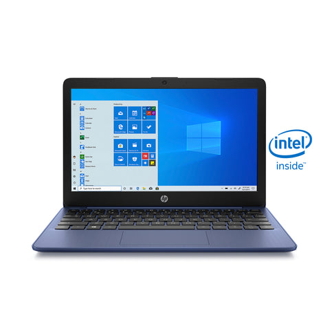 "HP Stream 11.6"", Celeron, 4GB RAM, 64GB emmc, Royal Blue, Windows 10 Home in S mode, 11-ak0090wm"