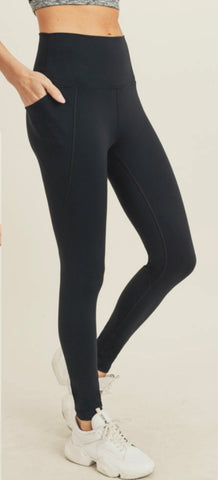 Mantra Logo Leggings