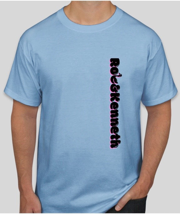 Rob&Kenneth Vert Light Blue Tee