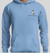 Load image into Gallery viewer, Rob&Kenneth Light Blue Hoodie