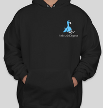 Load image into Gallery viewer, Rob&Kenneth Midnight Black Hoodie
