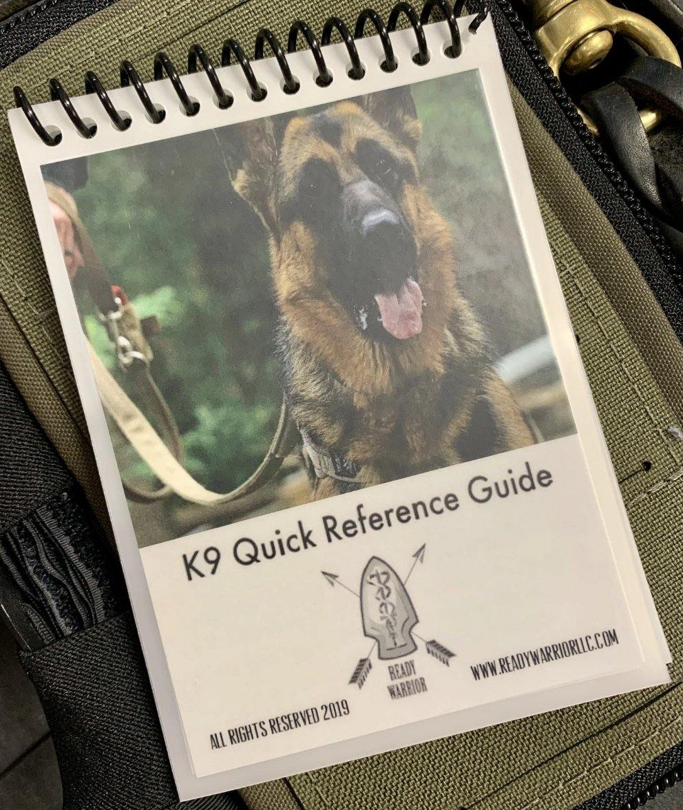 K9 Quick Reference Guide - Triad Medical Training