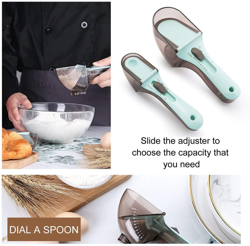 Adjustable Measuring Cups and Spoons Set (FREE SHIPPING) - Koalaidea