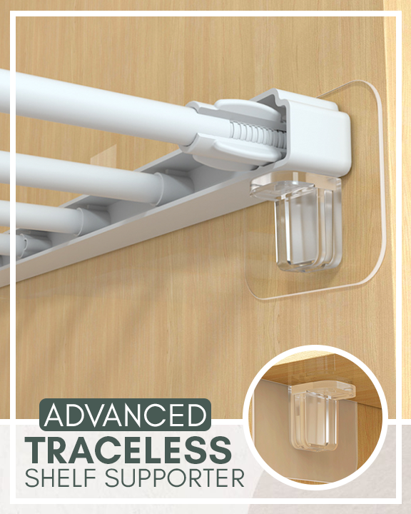 Advanced Traceless Shelf Supporter
