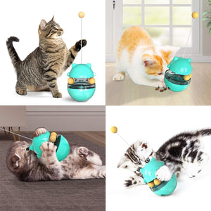 Tricky Cat Treat Toy