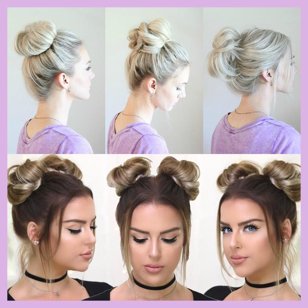 One Step Hair Updo Bun Wig