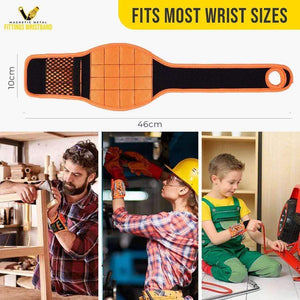 Magnetic Metal Fittings Wristband