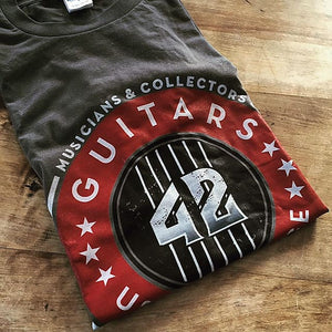 42 Guitars Short Sleeve T-Shirt