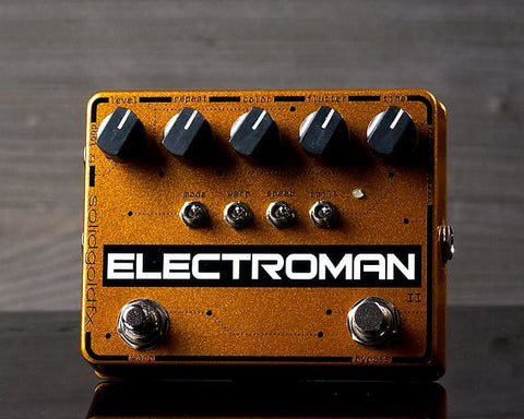 SolidGoldFX Electroman MKII Modulated Delay