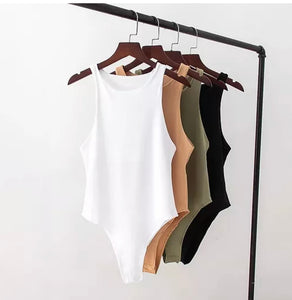 Sleeve less bodysuit