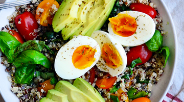Kickstart your day with these savory superfood breakfast bowls