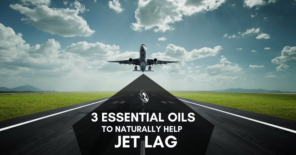 3 Essential Oils to Naturally Help Jet Lag