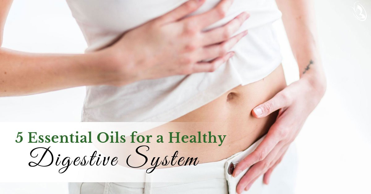 5 Essential Oils for a Healthy Digestive System