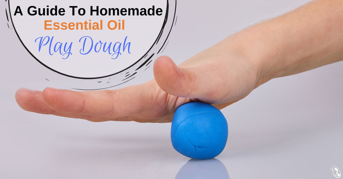 A Guide To Homemade Essential Oil Play Dough