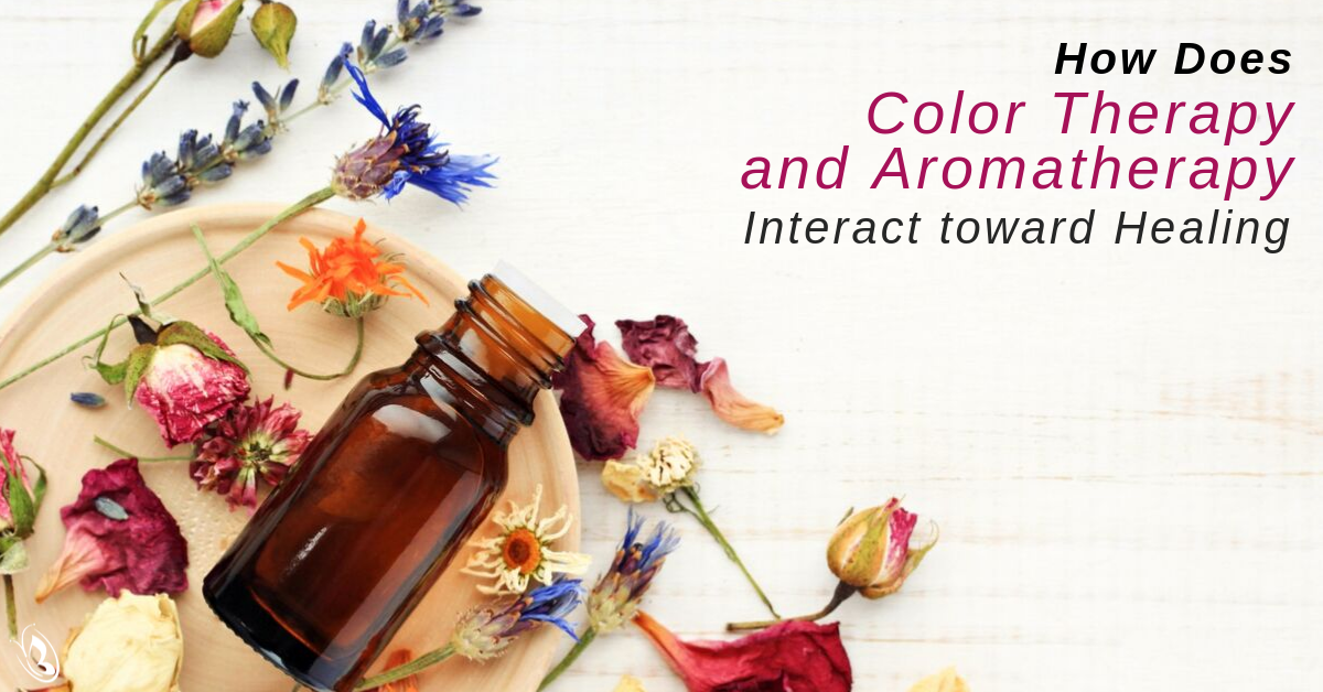 How Does Color Therapy And Aromatherapy Interact Toward Healing?