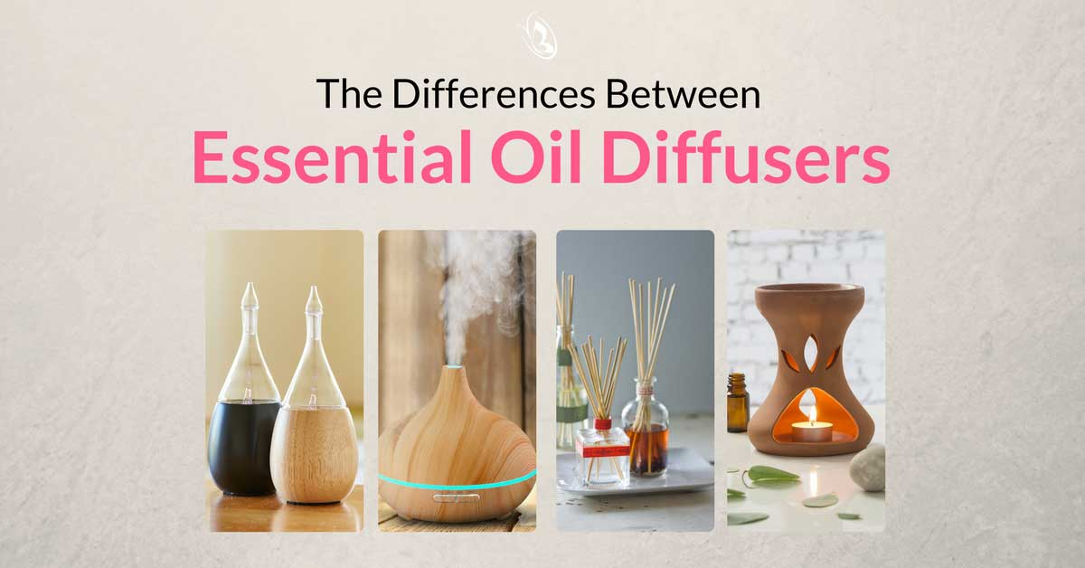 The Differences Between Essential Oil Diffusers