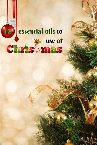 12 Essential Oils to Use at Christmas Pin