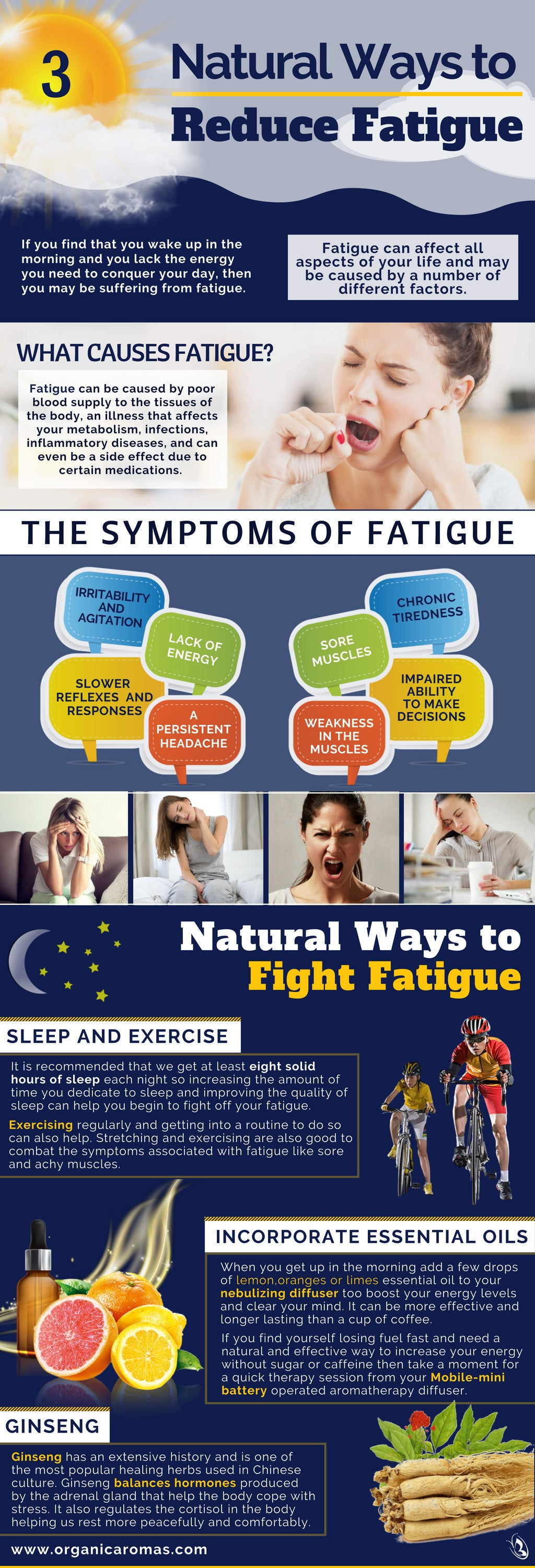 3 Natural Ways to Reduce Fatigue