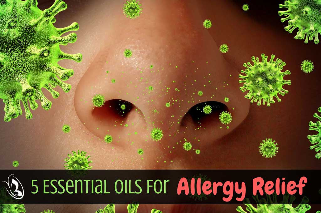5 Essential Oils For Allergy Relief