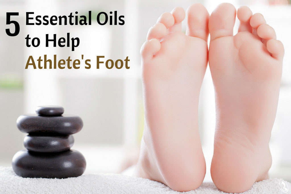 5 Essential Oils to Help Atheletes Foot