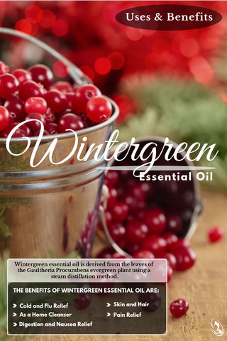 5 Ways to use Wintergreen Essential Oil