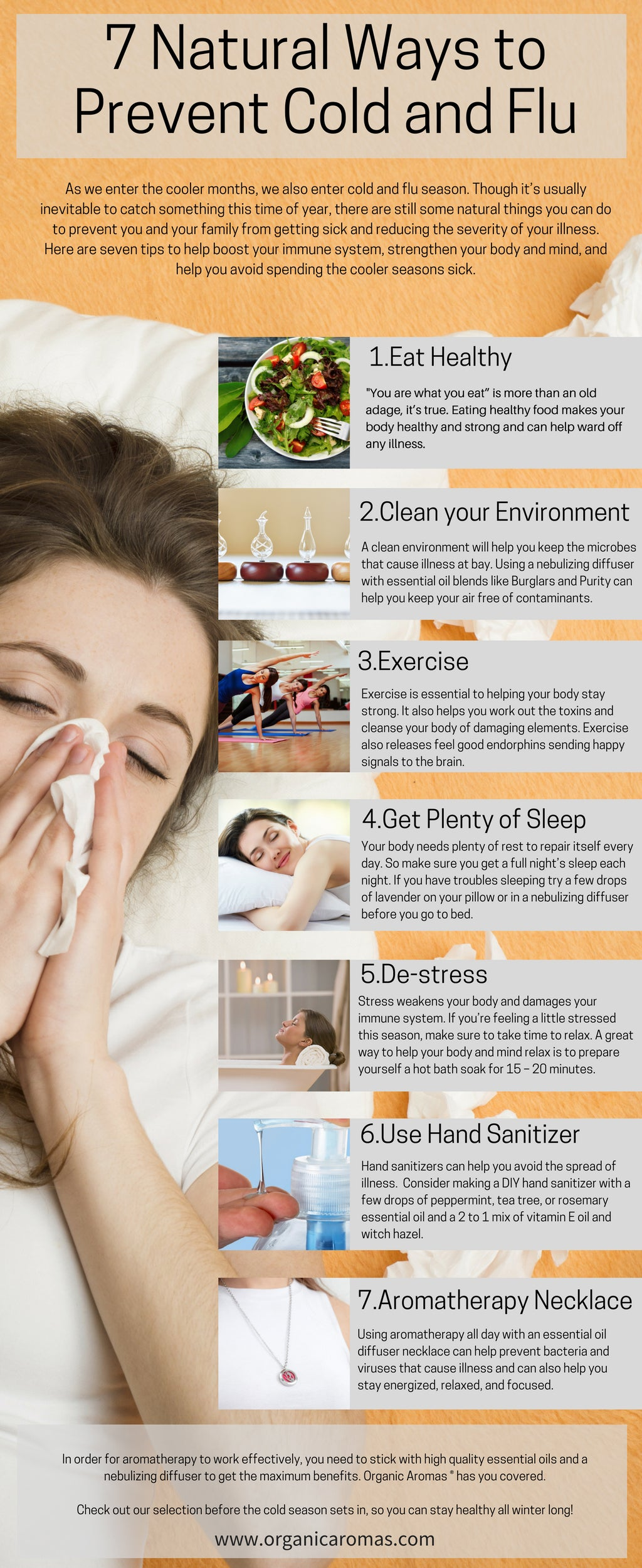 7 natural ways to prevent cold and flu - organic aromas