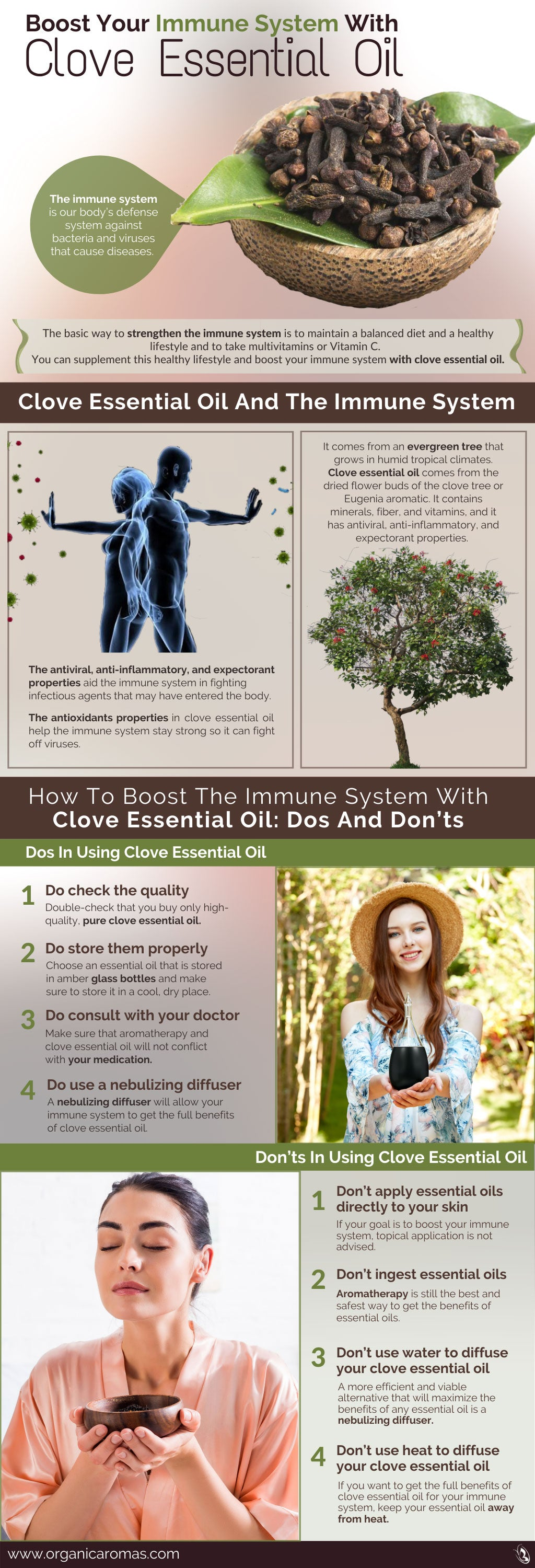 Boost Your Immune System With Clove Essential Oil