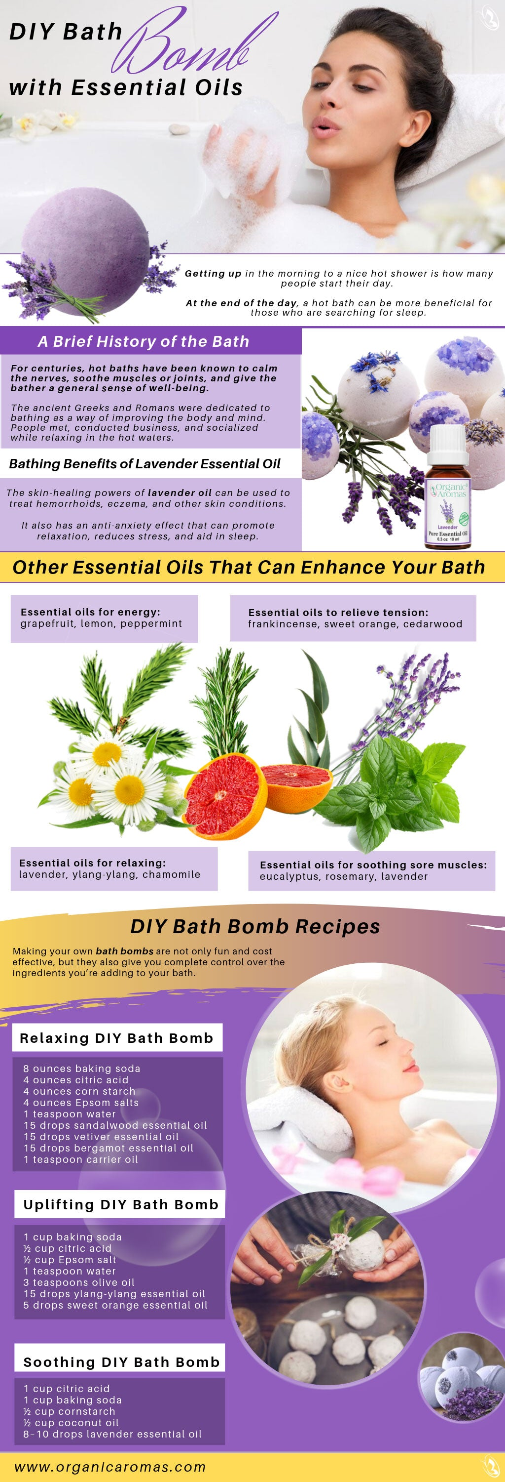 DIY Bath Bomb With Essential Oils
