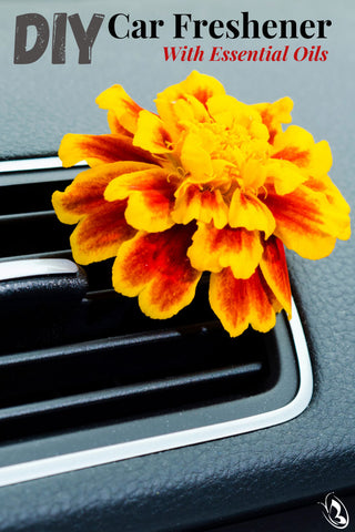 DIY Car Freshener With Essential Oils