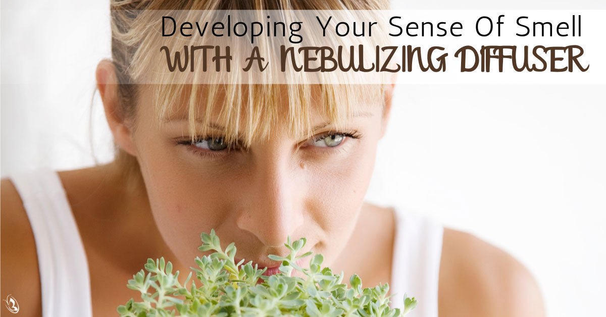Developing Your Sense Of Smell With A Nebulizing Diffuser