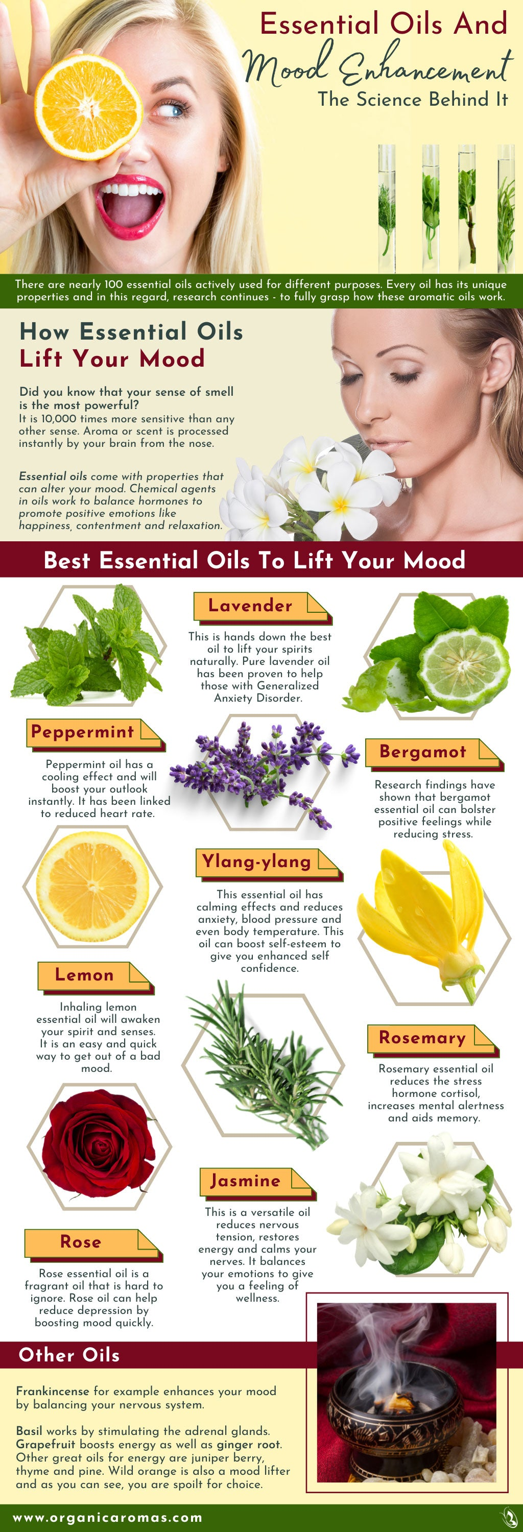 Essential Oils And Mood Enhancement - The Science Behind It
