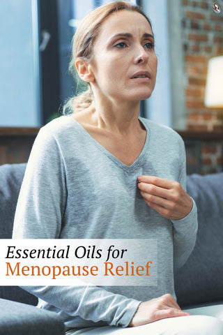 Essential Oils for Menopause Relief