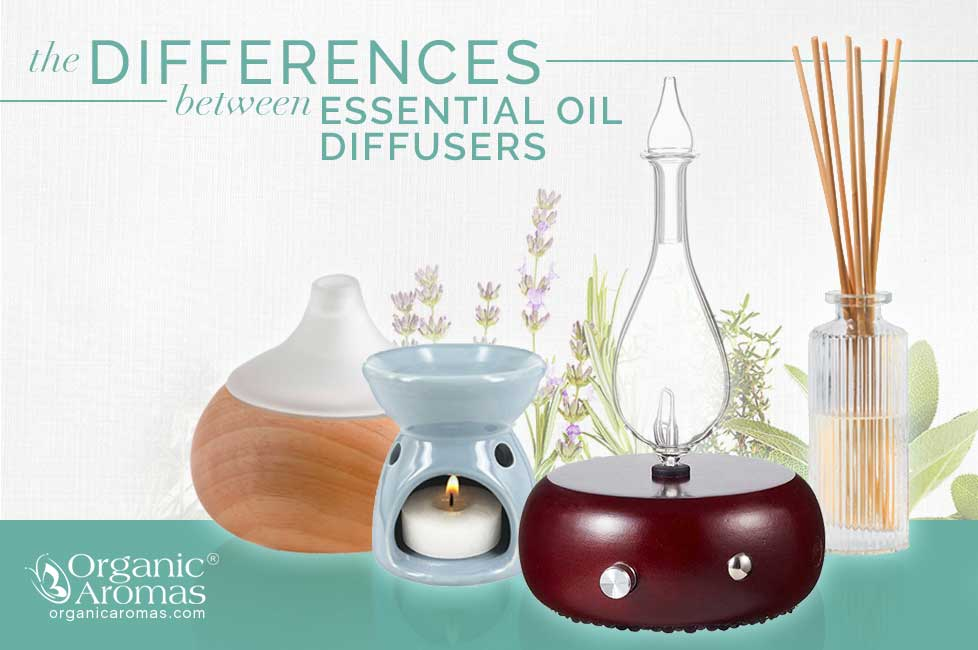 Differences Between Essential Oil Diffusers