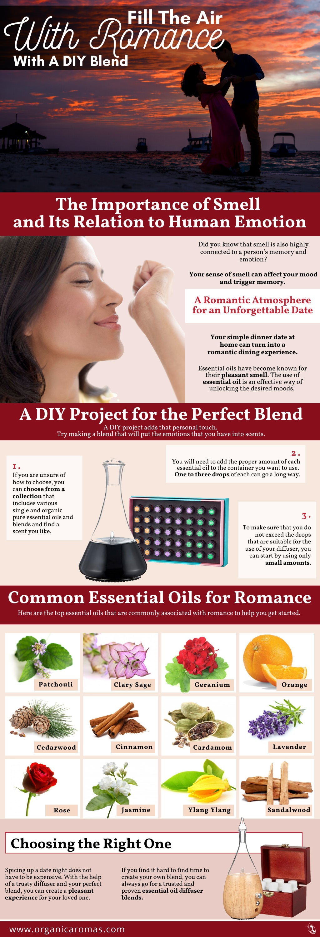 Fill The Air With Romance With A DIY Blend