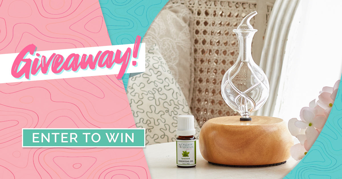 Organic Aromas Weekly Giveaway August 9 2021
