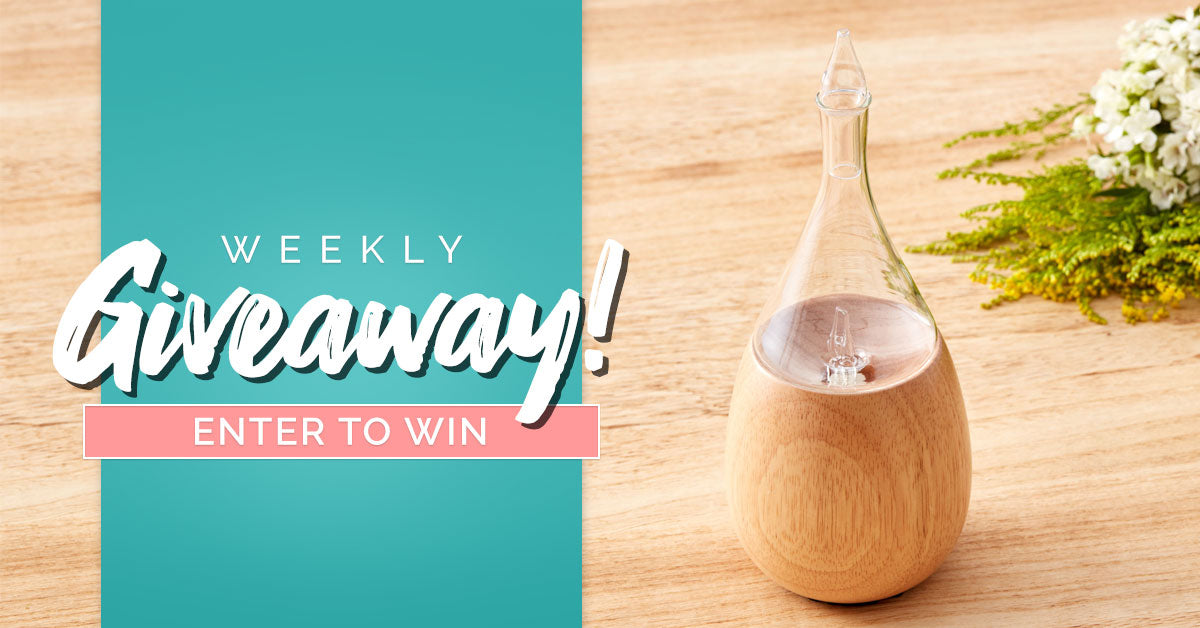 Organic Aromas Weekly Giveaway October 7 2019