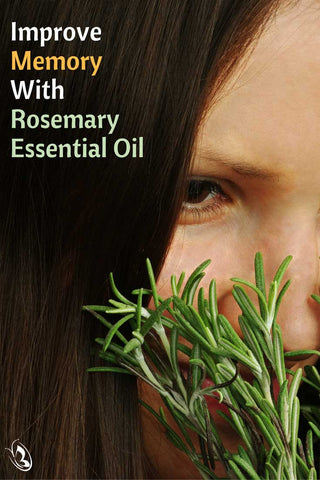 Rosemary and Memory Pinterest by Organic Aromas