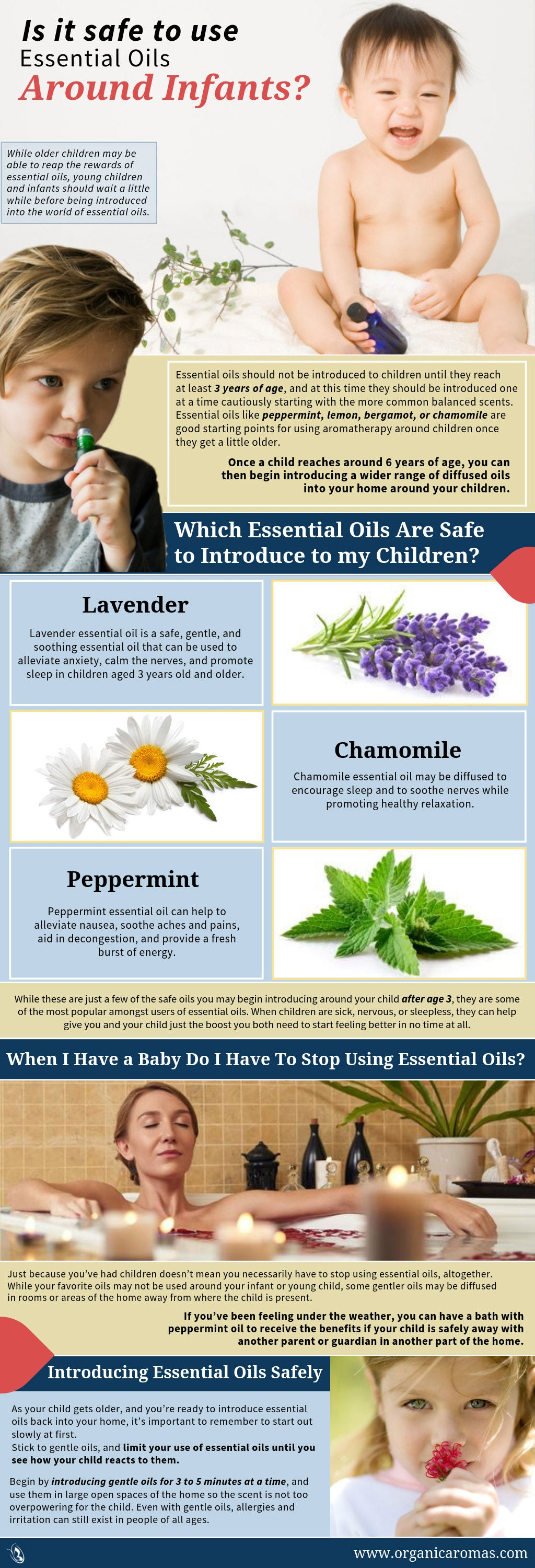 Is It Safe To Use Essential Oils Around Infants Organic Aromas