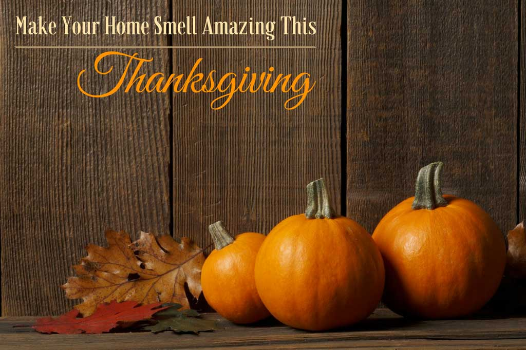 Happy Thanksgiving from Organic Aromas