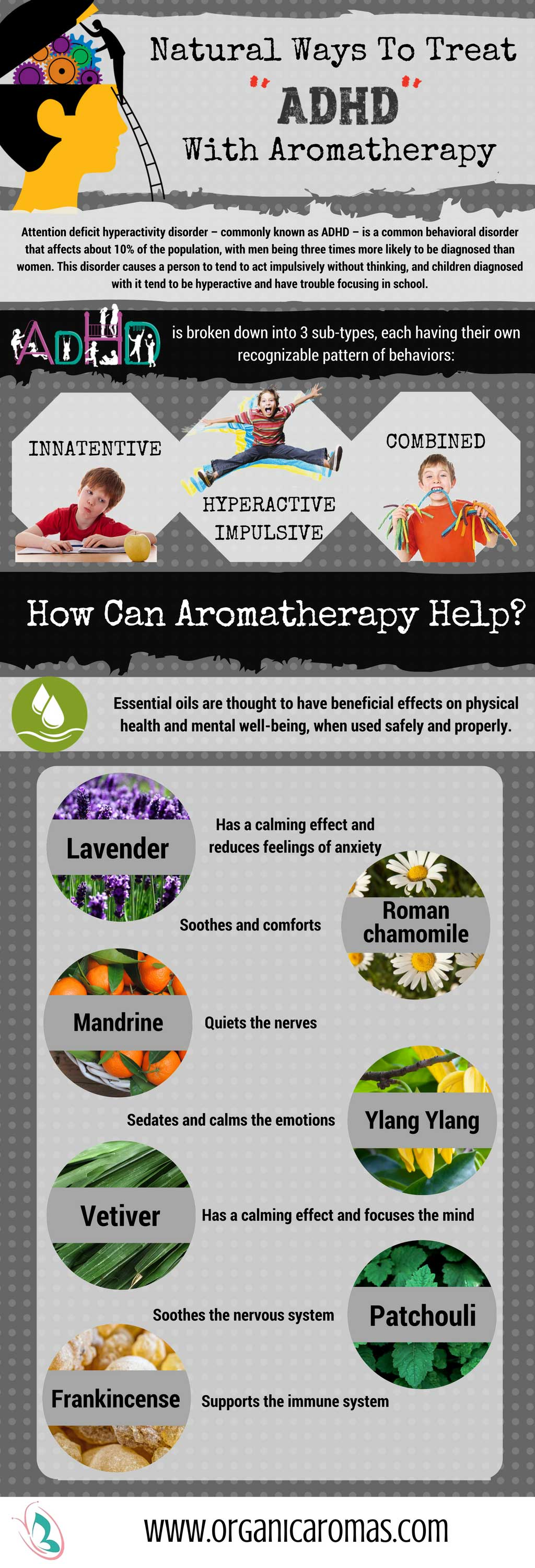 Essential Oils and ADHD By Organic Aromas