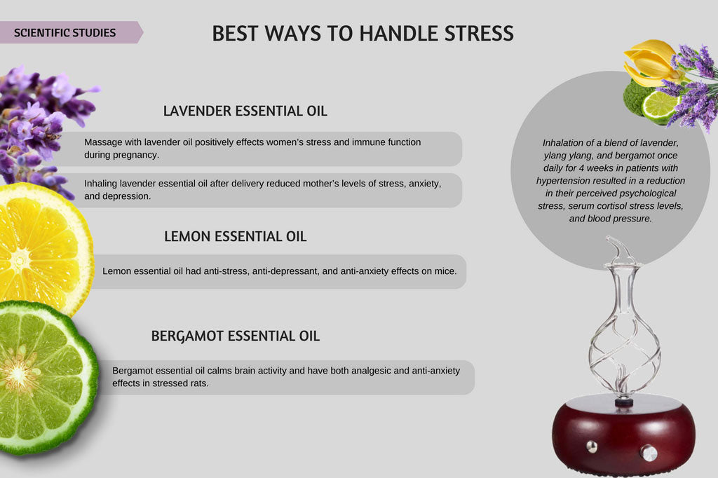 Stress Brain And Aromatherapy Organic Aromas