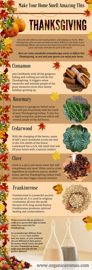 Fill your home with Organic Aromas this Thanksgiving