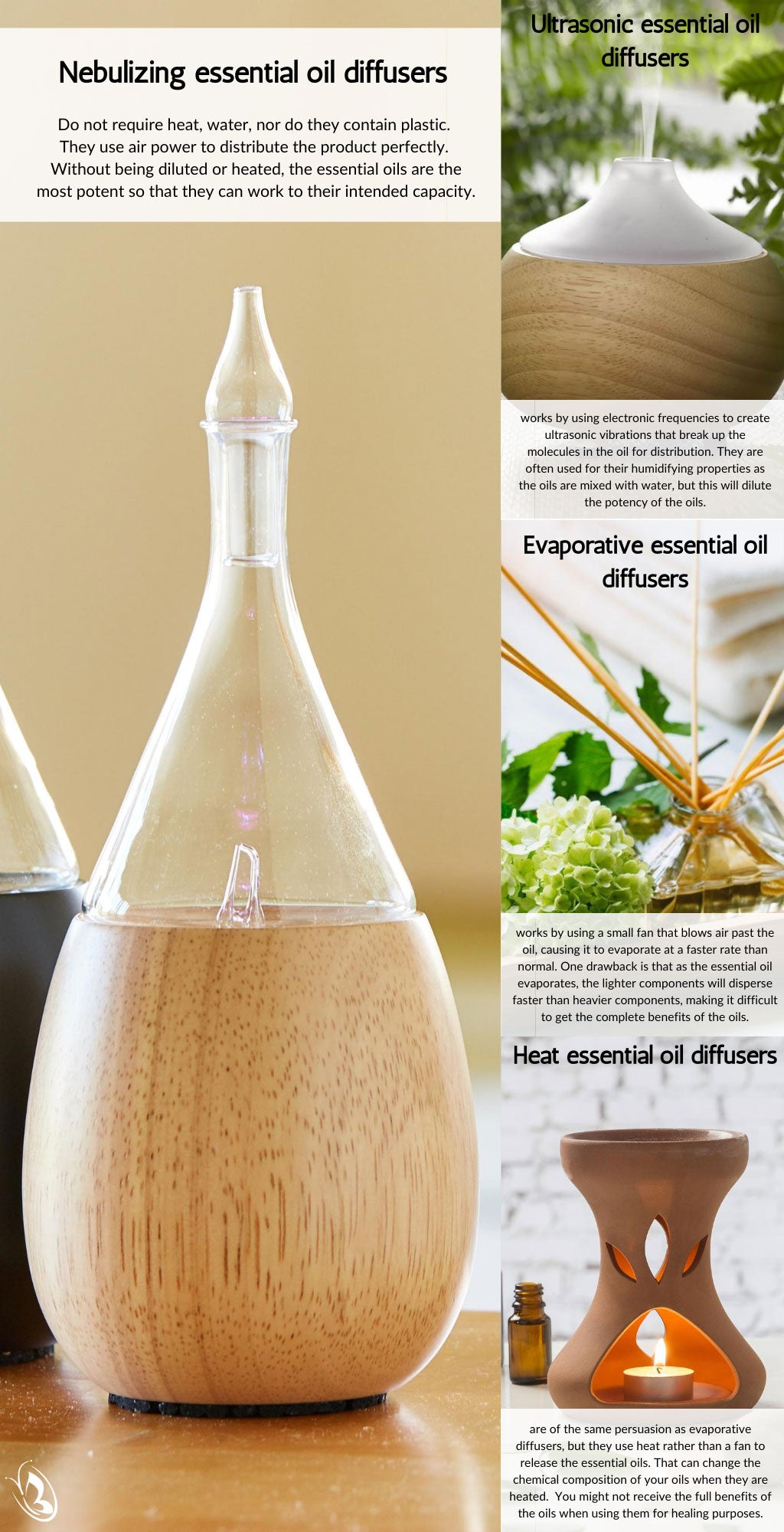 The 4 Main Types Of Essential Oil Diffusers