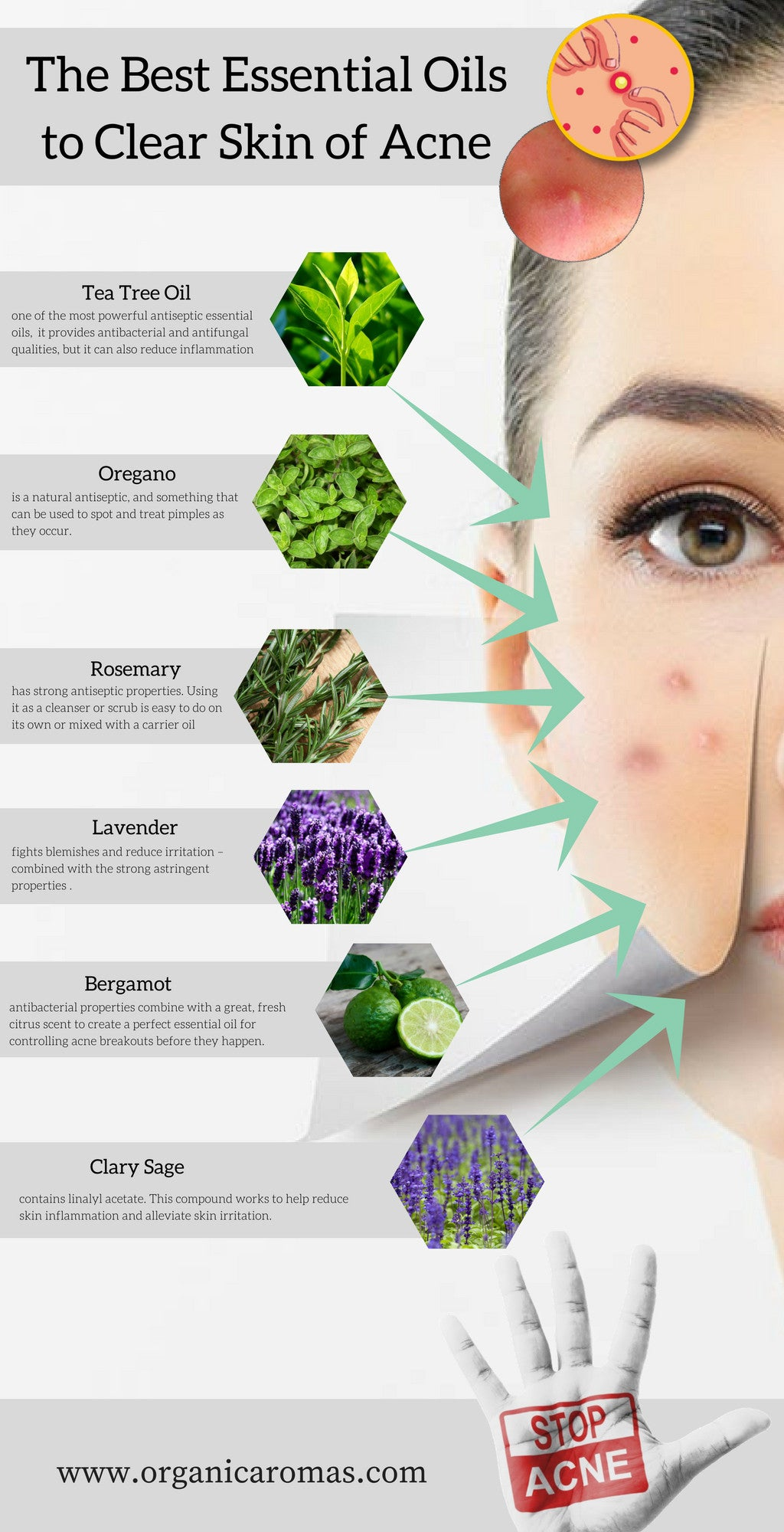 The Best Essential Oils to Clear Skin of Acne
